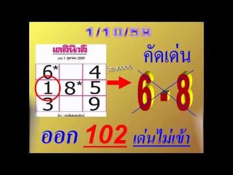 เลขเด็ด เดลินิวส์ 2ตัว มา1ตัว  16/10/59 มาลุ้นต่อ.....