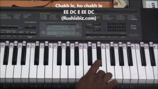 Jai Ho Song (AR.Rehman) Piano Tutorials - Slumdog Millionaire
