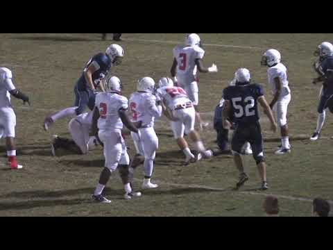 "Stephen ""Blake"" Davis #11 DE/TE high school football season highlights Class of 2012"