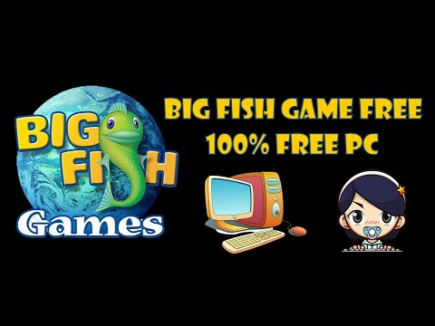 Cara Install - BIG FISH GAME - PC