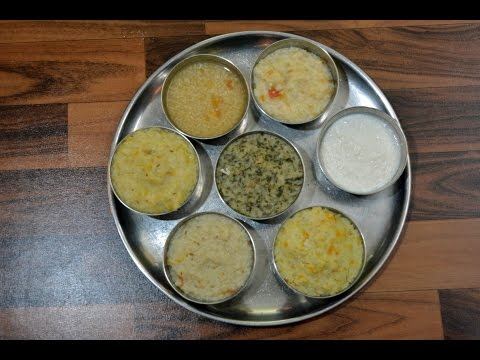 Baby Lunch Recipe 6 to 12 months | Indian baby Lunch| Lunch for baby | Baby food part - 3