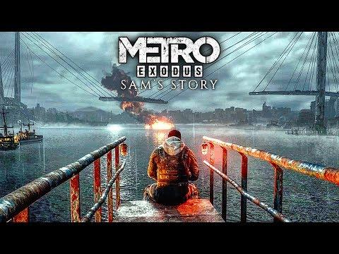 METRO EXODUS Sam's Story All Cutscenes Movie (2020) HD