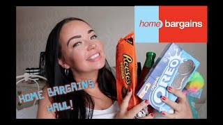 HOME BARGAINS HAUL!!