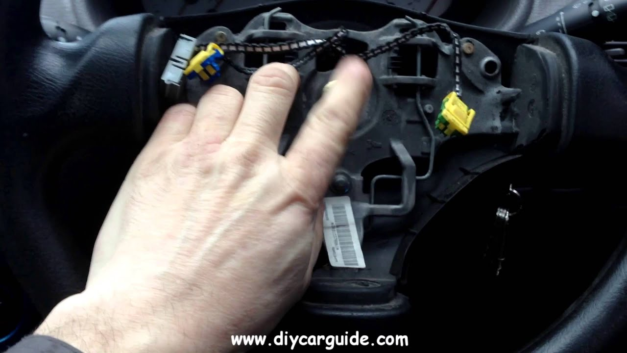 Wiring For Blinkers Peugot 206 Steering Wheel With Airbag Removal Youtube
