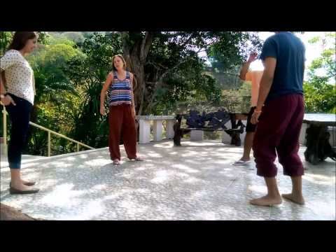 Laughter Yoga - Lady Love in Costa Rica! (+House Music)