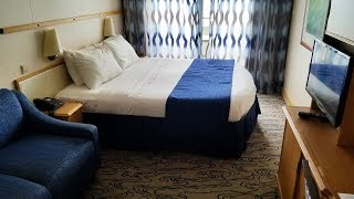 Voyager of the Seas Balcony Cabin Tour 6592