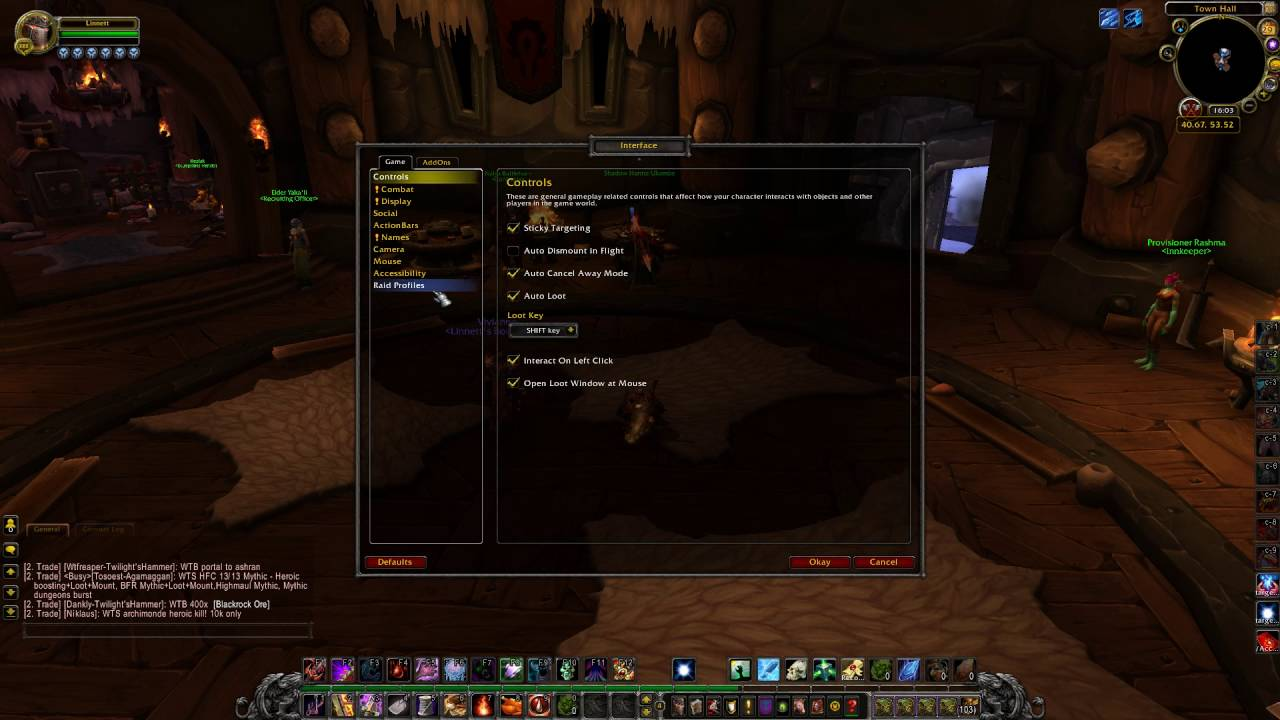 how to enable cinematic subtitles in wow legion youtube