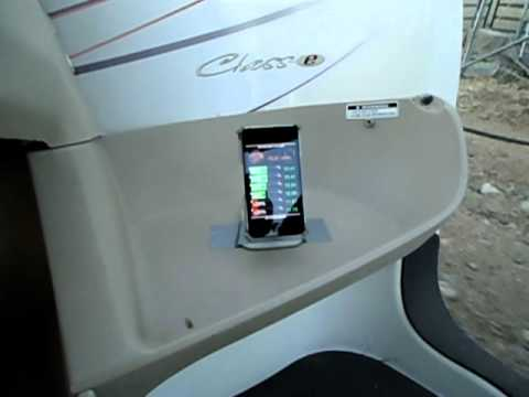 iphone battsix battery monitor in bombardier nev youtube. Black Bedroom Furniture Sets. Home Design Ideas