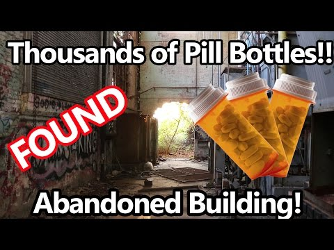 Thumbnail: Thousands of Pill Bottles Found Inside Abandoned Building!!