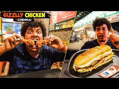 Sizzlly Chicken - Street Food, Chennai - Irfan's View