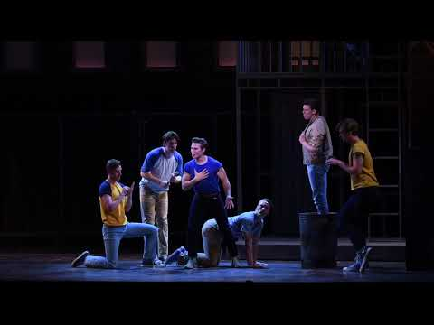 Gee Officer Krupke from West Side Story  Summer Rep 2017