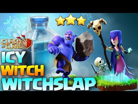 ICY WITCH | WITCH FREEZE |  WITCHSLAP | FROZEN WITCH | NEW TH10 Attack Strategy coc