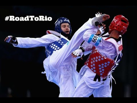 Taekwondo Highlights - Aaron Cook