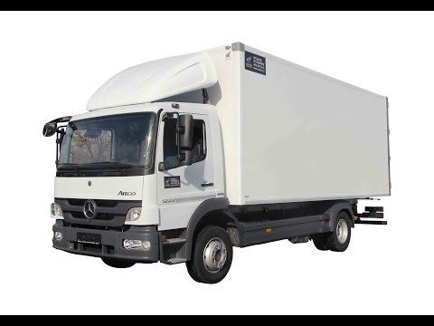 Mercedes Benz Atego Изотермический фургон 35м3, 14 15 европаллет