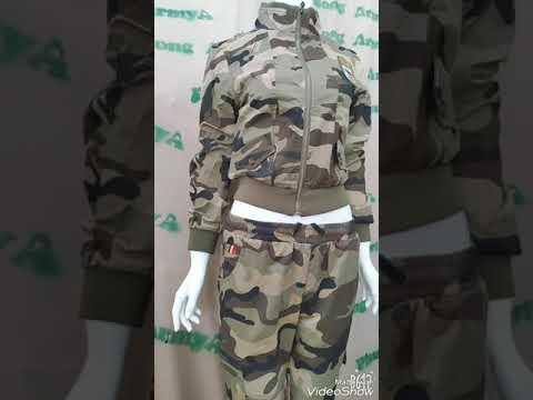 Mẫu bộ khoác quần áo rằn ri – thời trang lính nữ | Tất tần tật thông tin về thời trang nữ