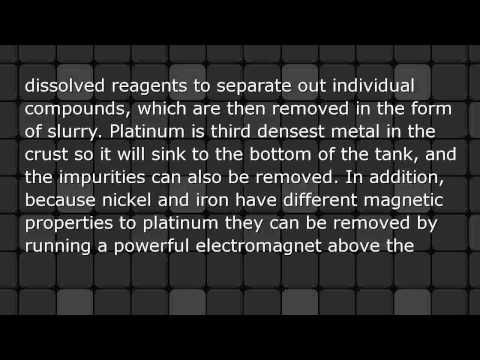 How is Platinum Extracted from its Ore?