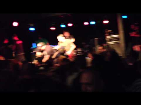 Mark Adkins of Guttermouth Fights Girl @ Hodi's Halfnote - Fort Collins CO