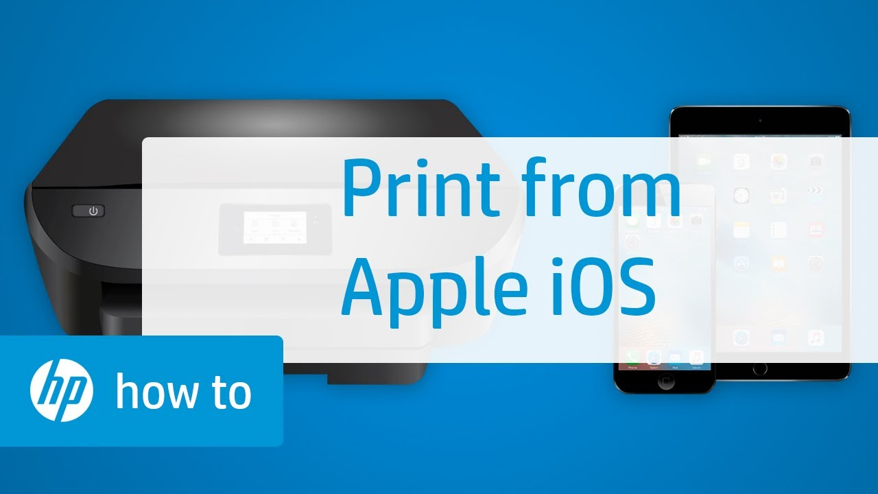 printer that connects to iphone printing from apple ios to an hp printer 6523