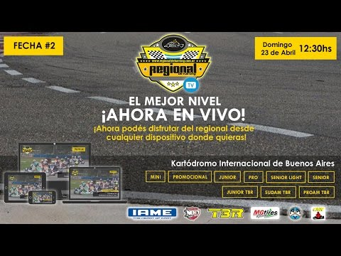 23/04/17 Streaming - Regional de Karting - Fecha 2