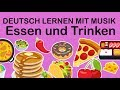 Food and drinks  //  Learn German vocabulary with articles and plural