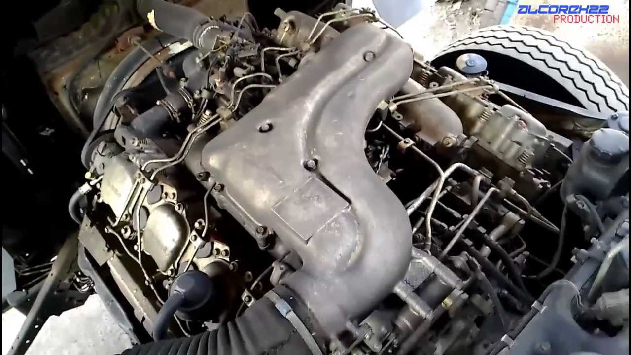 mitsubishi fuso 8dc11 v8 engine view youtube rh youtube com
