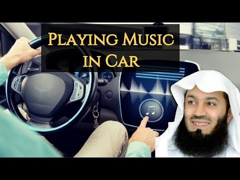 Blasting Music In Car   Mufti Menk