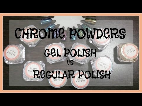 Demo & Review | Born Pretty Chrome Powders