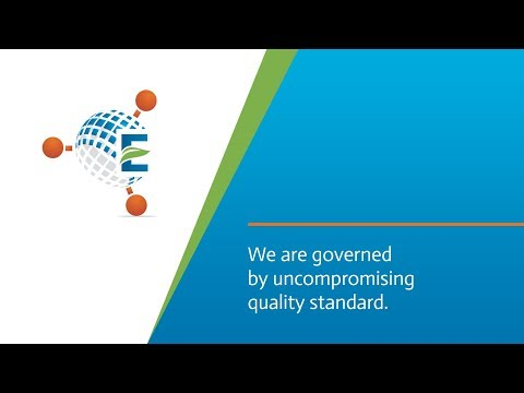We are governed by uncompromising quality standard