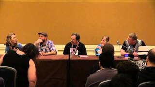 The IDW MLP Comics Panel