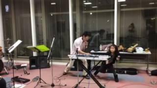 バンド練習風景 カワ.