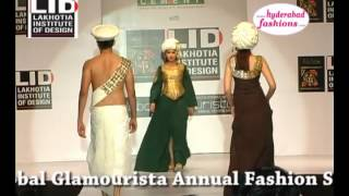 "Lakhotia Institute of Design Awards 2012, ""The Arabian Arrival Collections by  Shoib Ali Ahmed"