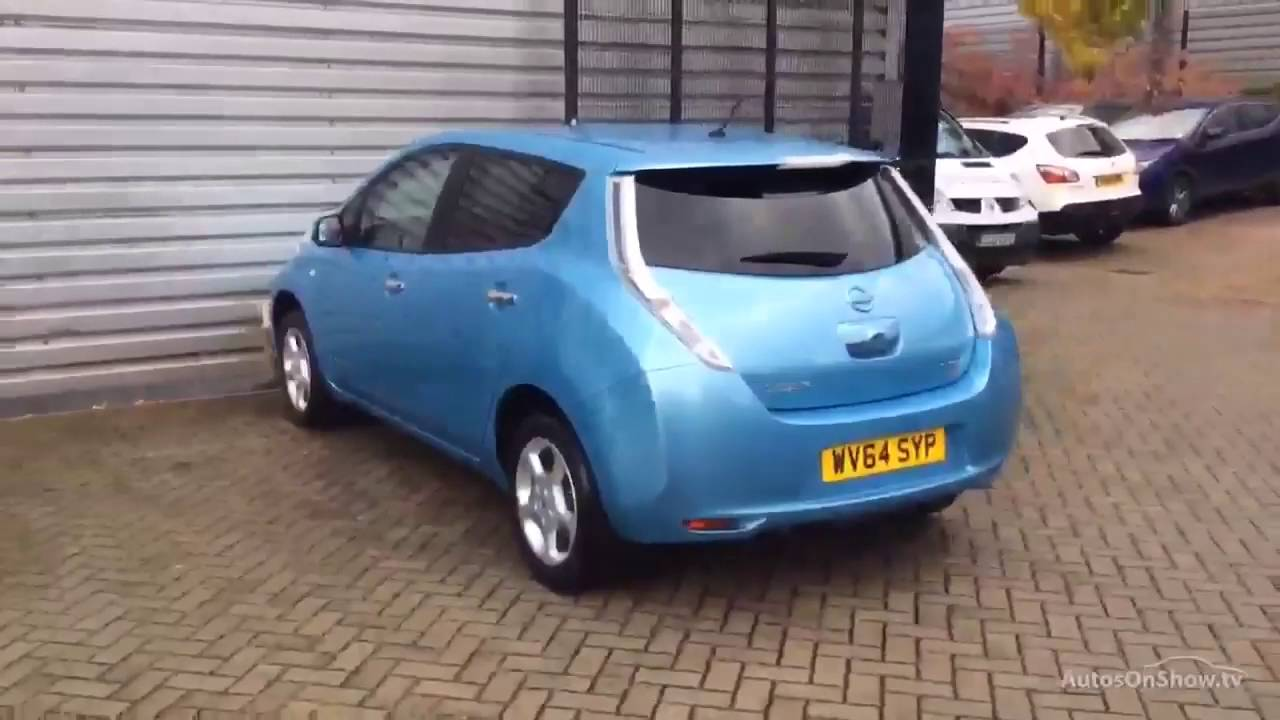 nissan leaf acenta blue 2014 youtube. Black Bedroom Furniture Sets. Home Design Ideas