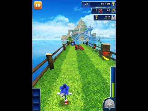 Sonic Dash! Магазин! Серия 49! Соник даш! Игра iPhone iPad