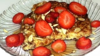 How To Make Almonds Panettone French Toast Recipe