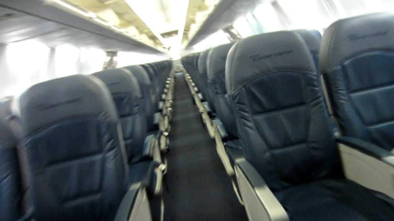 Delta 737 800 Cabin Walk Through Old Youtube