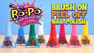 Bo Po Nail Polish Kids Brush On Peel Off Worx Toy Reviews For You
