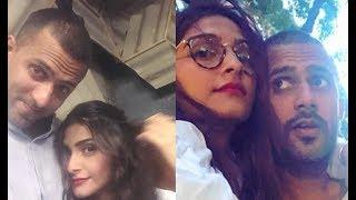 Sonam Kapoor Cosy With Boyfriend Anand Ahuja