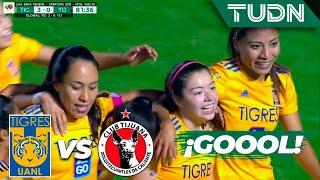 ¡Katty define de manera perfecta! | Tigres 3 - 0 Tijuana | Liga MX Femenil - Cuartos - AP 19 | TUDN