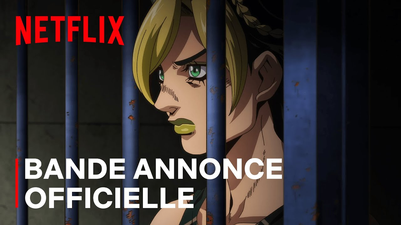 JoJo's Bizarre Adventure STONE OCEAN | Bande-annonce officielle | Netflix France