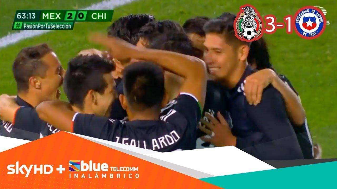 México inicia con pie derecho era del 'Tata' tras golear a Chile | México 3 - 1 Chile