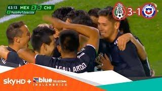 México inicia con pie derecho era del 'Tata' tras golear a Chile | Presentado por Sky