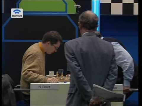 Kasparov's funny reaction