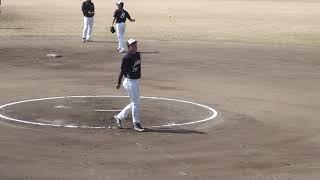 男子ソフトボール 全日本大学男子選抜 vs 日本エコシステム 第一試合