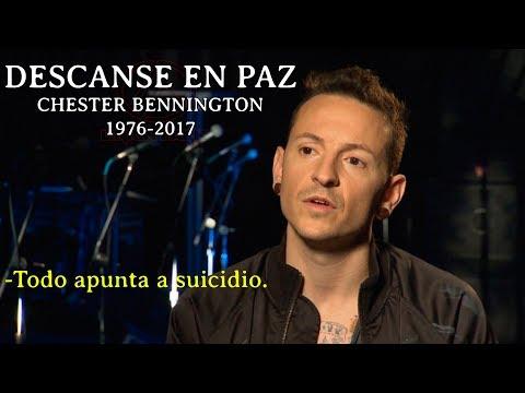 Se ha ahorcado Chester Bennington vocalista de Linkin Park - DEP Maestro