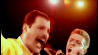 Queen & David Bowie - Under Pressure (Classic Queen Mix)(More Queen on DVD: http://adf.ly/aGNvM