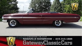 1964 Ford Galaxie 500 Convertible,Gateway Classic Cars-Nashville#575
