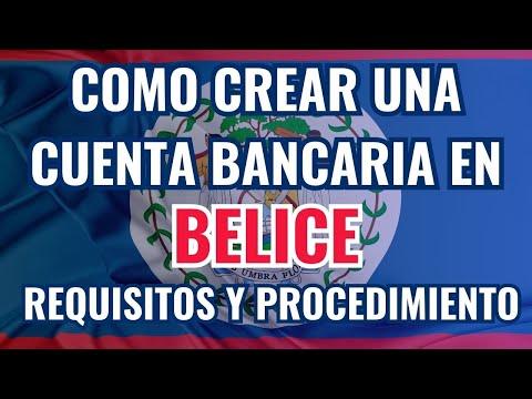 Como Abrir una cuenta bancaria offshore en Belice