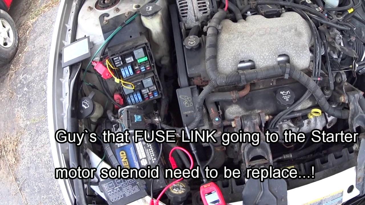 2004 chevy impala engine won t start 60 amp open fuse [ 1280 x 720 Pixel ]