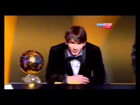 FIFA Ballon d'Or winner 2010 - Lionel Messi