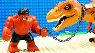 Red Hulk vs Godzilla